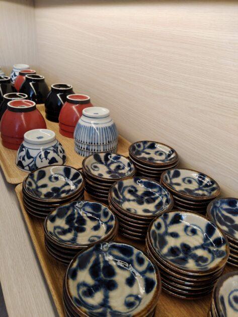 ホテルトリフィート宮古島リゾート  食器がおしゃれ